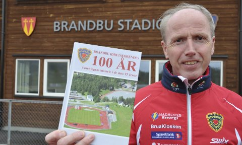MARKERING: Fredag og lørdag blir det stor markering av Brandbu IF sine 100 år. Foto: Rune Pedersen