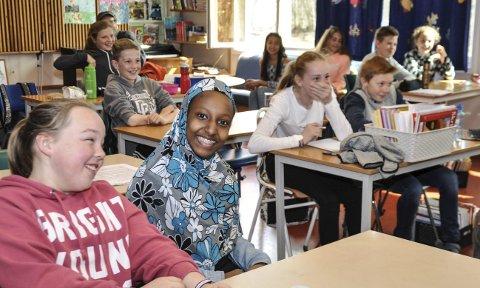 MORSOMT: Morten Hovland skapte mye latter i sjuende trinn på Solvang skole.
