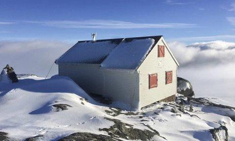Destinasjon: Turlaget si hytte på Holmaskjer, Folgerfonna.