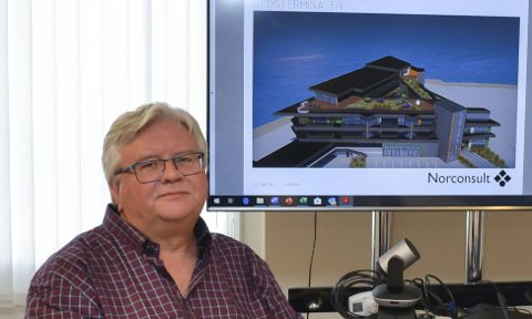 Tor Petter Stensland: Styrelederen i Almerket AS sier folk har vist stor interesse for prosjektet, som blant annet inneholder 25 leiligheter. – Markedet er der. Det er det liten tvil om, sier Stensland. Arkivfoto: Ernst Olsen