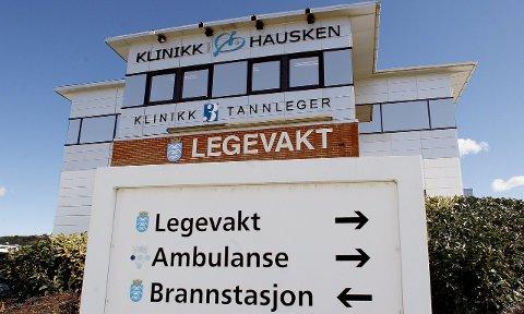 Ni kommuner får legevakttjenester via Haugesund legevakt. Utredning av en ny interkommunal legevakt i Karmøy, vil ikke Haugesund være en del av, nå som brannsamarbeidet krasjet.