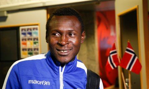 FRYSER I HAUGESUND: - Det kalde været gjør at den norske ligaen er veldig tøff, sier Ibrahim.