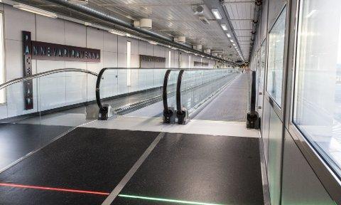 Endelig bedring: I dag ble rullebåndene til B-gatene på Oslo Lufthavn åpnet. Foto: Oslo Lufthavn