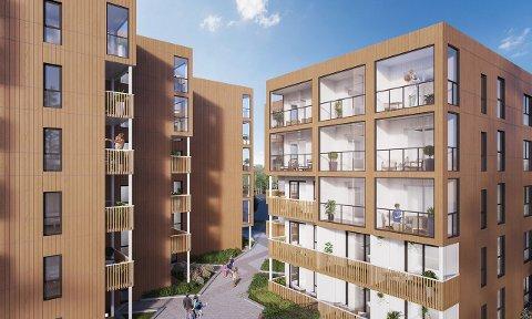 SMÅTT: Til tross for at leilighetene er så små som 20 kvadratmeter, vil mange kjøpe.