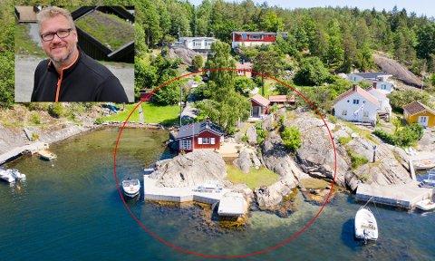 IDYLL: Den profilerte Vinje-advokaten Stein Birger Johnsen har kjøpt hytte i Kragerøskjærgården.