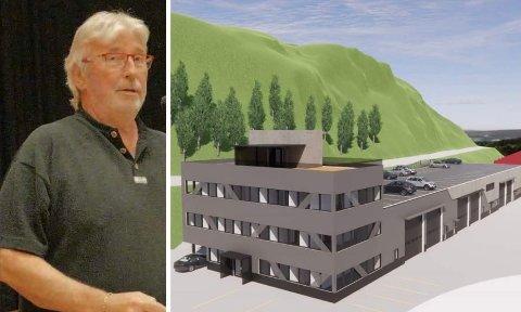 LYKKELIG: Kommunestyrerepresentant og tidligere havnestyreleder Øyvind Olsen (SV) gleder seg over beslutningen. Illustrasjon: Arkitektfirmaet Point