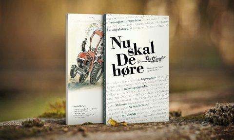NY BOK: Paa Tampen-eventyret er over etter 30 år, men karane bak avsluttar med ei flott bok som ei siste helsing til alle dei trufaste lesarane som har elska spalta. Bokomslaget er utforma av Vidar Håland/Makalaus Design.