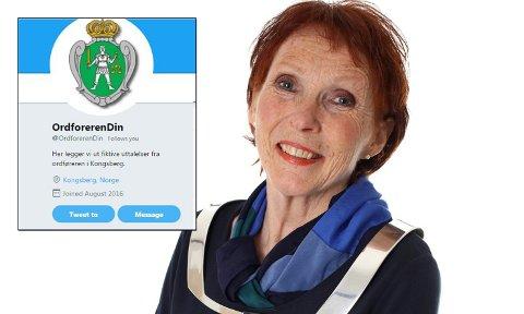 TULL PÅ TWITTER: Noen har opprettet en Twitter-konto der de publiserer tulle-meldinger fra ordføreren. Ordføreren selv har ikke så sans for sosiale medier og foretrekker heller en god gammeldags samtale.