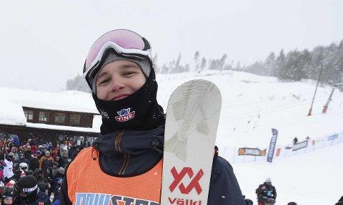 15. PLASS: Tevje Skaug ble 15. mann i finalen i junior-VM.
