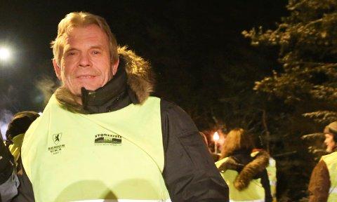 TILTAK: Arne Nævra (SV) råder folk lags Gamleveien om å komme med noen forslag til trafikksikkerhetstiltak. Han syns det er uholdbart at veien oppleves som mer usikker.
