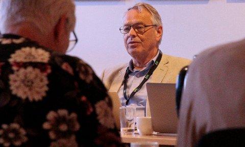 FORUNDRET: Kjell Gunnar Hoff mener det ikke er grunn til bekymring for Føden i Kongsberg.