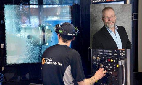NY SJEF: Fra 21. september er Olaf Ødegård ny sjef på Uvdal Maskinfabrikk.