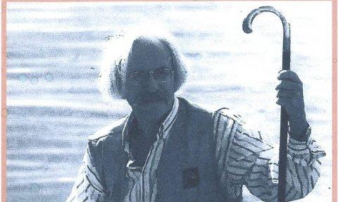 Allsidig: Til tross for handicap hele livet, var Kjell Sandvik en allsidig mann med sine bøker, viser og journalistiske verk.