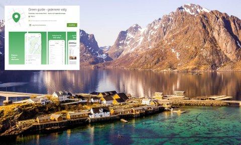 Anitas sjømat på Sakrisøy er blant tilbyderne i kart-appen Green guide, som skal gjøre det lettere å ta miljøvennlige valg i Lofoten.