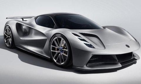 Lotus sin første elbil blir også en av verdens kraftigste. Dette er galskap på fire hjul!