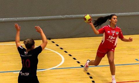TAPTE: Ema Fazlagic og Lyngdal tapte serieåpningen mot Lund.