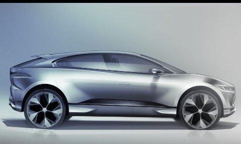 Ny drivlinje betydde også helt nytt designspråk fra Jaguar. Designmessig er I-Pace noe helt for seg selv.