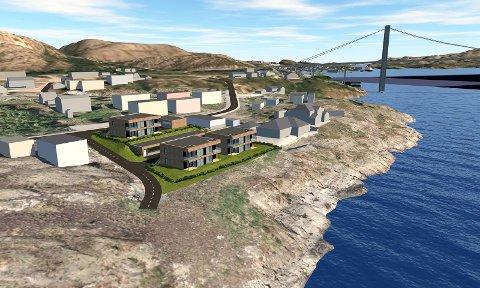 FERDIG TIL NESTE JUL: Norbolig AS sitt nye boligprosjekt kan stå ferdig allerede til neste jul dersom interessen blant boligkjøpere holder samme takt som til nå.