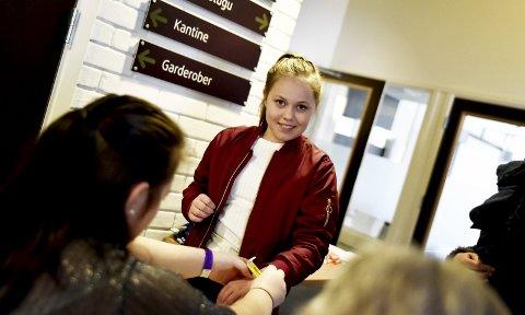 Spent: Elena Bjørnstadhaugen debuterte under Gudbrandsdalskappleiken i Lom.