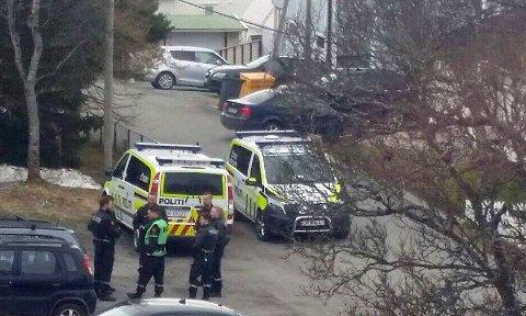 PÅGREPET: Politiet er sparsomme med opplysninger etter en politiaksjon i Tromsdalen tirsdag. En mann ble pågrepet.