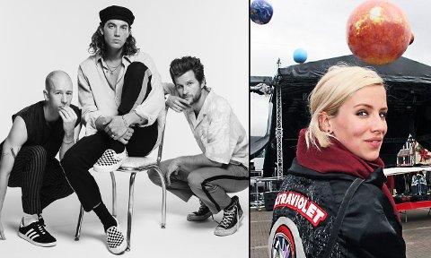KLARE FOR TURNÉ: I september drar Tromsø-artisten Dagny Norvoll Sandvik på turné med LANY i nesten to måneder.