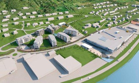 STORE PLANER: Utbygger Amfi Bygg Tromsdalen AS  ønsker å bygge åtte boligblokker og bygge om Amfi Pyramiden til et nytt, oppgradert og moderne kjøpesenter på 24.700 kvadratmeter, inkludert parkeringshus og varemottak.
