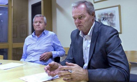 ENDRING: Styreleder Tor Espen Larsen i Industribygg sier selskapet er inne i en spennende tid. Onsdag skal generalforsamlingen ta stillingen til ny strategi. Arkivbilde