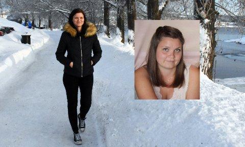 GIKK NED 20 KILO: Thea Wollheim Rønningen fra Dokka har helt på egen hånd klart å endre livsstil og begynner å få et godt forhold til egen kropp.