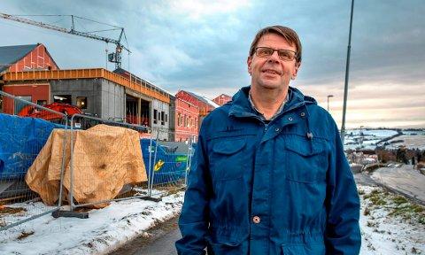LABO: - Et byggetrinn to, slik en vurderer behovet i dag, var ikke et premiss i saken verken da tomtevalget ble tatt eller i arbeidet med forprosjektet, sier Bjørn H. Eng, bygg- og eiendomssjef i Østre Toten kommune.