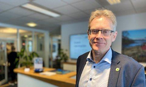 SER MOT OSLO: Administrerende direktør Knut-Oscar Flæten i Sparebank 1 Hallingdal Valdres ser mot Oslo for å finne vekstmuligheter. FOTO: INNSENDT