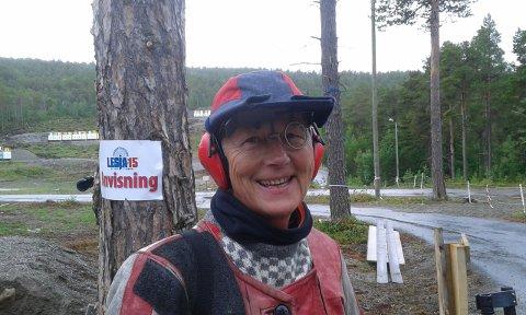 FINALE: Torhild Liseter har skutt seg til finaleplass.