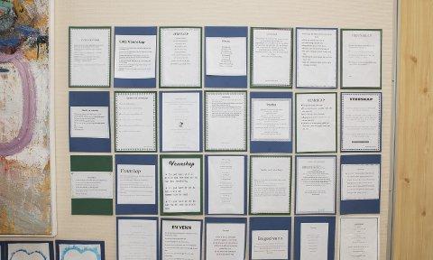 Egne dikt om vennskap: Elever på Valby skole har skrevet egne dikt om vennskap.