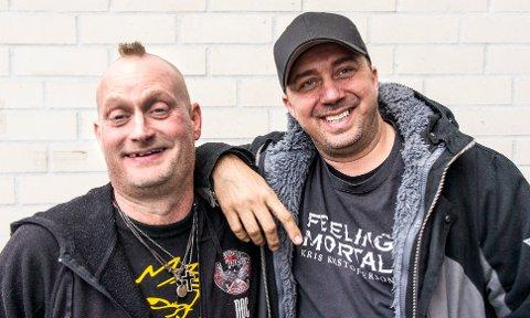 BIRKEN: I tirsdagens episode av Norske rednecks blir Kristian og kompisen Doc spurt om de har lyst til å sykle Birkerbeinerrittet på vegne av Superselma-prosjektet. Det hadde de selvfølgelig lyst til! (Pressefoto: Discovery Networks Norway)