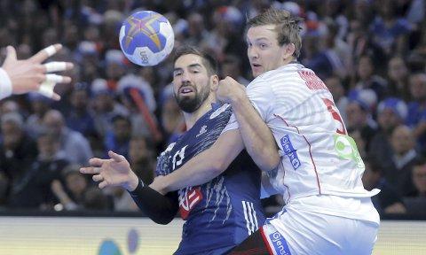KOMMER?: Nikola Karabatic (t.v.), Sander Sagosen og PSG er invitert til turneringen Eurotournoi i august. Det er også Elverums håndballherrer. Foto: Scanpix