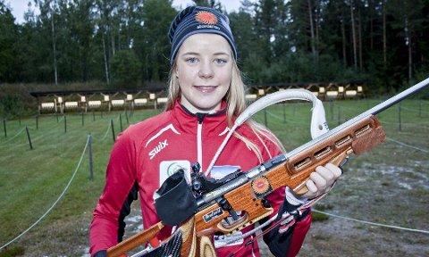 SIKTER SEG INN: 19 år gamle Ingrid Kristine Wright Hagen fra Kjellmyra elsker hverdagen som toppidrettsutøver ved NTG Lillehammer. Denne sesongen sikter hun inn på medalje i junior-VM.