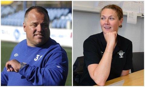 ULIKT SYN: Sport- og markedssjef i Nybergsund IL Trysil, Ola Brenden, mener det er riktig å avlyse 2020-sesongen nå. Styreleder i Elverum Fotball, Stine Skjæret, håper i det lengste på at det blir seriespill i høst.