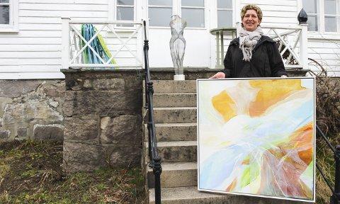 Var utstillingsklar: Fra lørdag skulle Maya Lawson-Laane og Ylva Jonsson hatt utstilling på Kunstforeningen Verdens Ende. Den er nå utsatt. Foto: Nina T. Blix