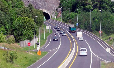SLUTT: Denne kjerreveien på E18 nærmer seg historie.