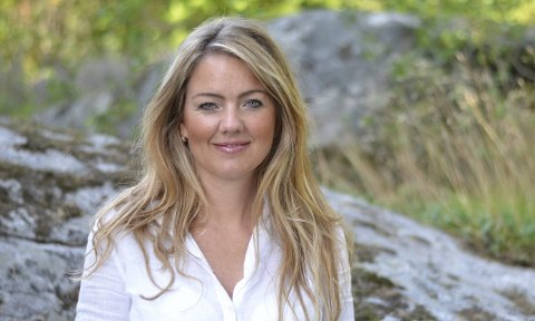 DAGENS TALER: Cecilie Agnalt fra Østfold Arbeiderparti.