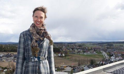 Øke aktiviteten: Daglig leder Ida Marie Ruud Stemmedalen i Rakkestad Næringsråd har søkt kommunen om ekstra penger for å kunne hjelpe det lokale næringslivet.