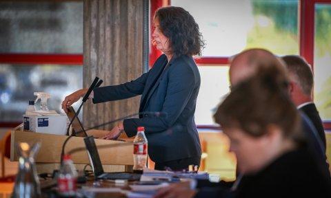 Kommunaldirektør for oppvekst og kultur, Lillian Nærem, fortalte om situasjonen i barnehagene. Bildet er fra en tidligere anledning.