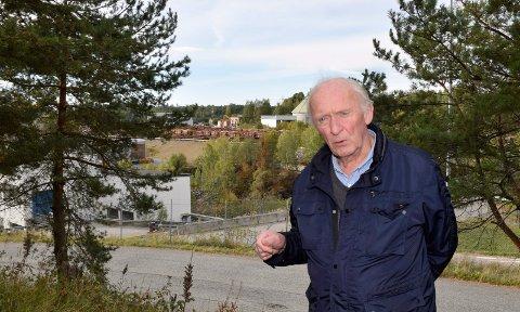 BETINGELSE: Arne Dølerud mener at gjenvinning av energi bør være en betingelse for etablering av datasentre.