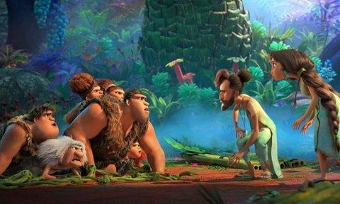 THE CROODS 2: Oppfølgeren til den store suksessen the Croods innebærer at familien Crood er kommet ut av hula.