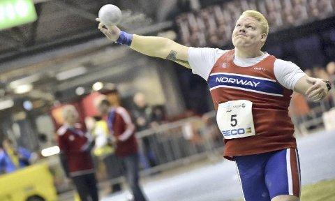 EN AV VERDENS BESTE: Marcus Thomsen (19) har verdens nest lengste støt blant juniorene. Nå håper han å hevde seg i EM, og etter hvert i OL. Foto: DECA