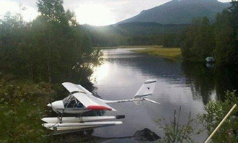 To personer omkom da et mikrofly havarerte i Meløy kommune i Nordland. Flyet ble funnet av et F-16 jagerfly etter en større leteaksjon natt til onsdag. Bildet er tatt ved en tidligere anledning. Foto: HRS / NTB scanpix