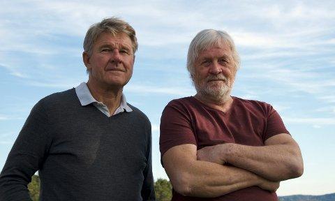 INNLEGG: Yngve Røskestad (t.v.) og Svein Olsen sier motstanden mot Statkrafts planer på Tofte er stor.