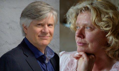 KOMMER: Ragnhild Groven (sopran) og Rolf Nykmark (baryton) kommer til Holmsbu kirke  søndag.