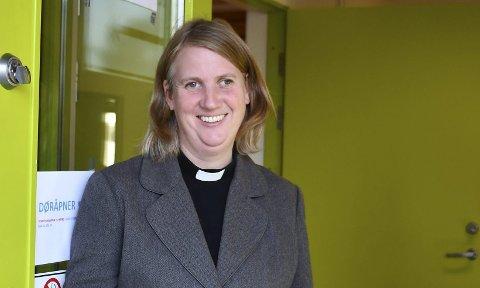 FORNØYD: Benedicte Aass er godt fornøyd med kirkevalget dette året. FOTO: INGUNN HÅKESTAD BRÅTHEN