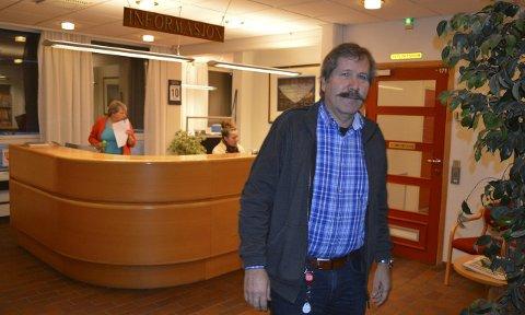 Bekymret: – Usikkerheten rundt Vear skaper uro blant de ansatte, sier Arne Antonsen, hovedtillitsvalgt for Fagforbundet. Foto: Jan Roaldset
