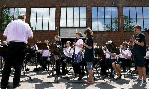 Populært tiltak: Seminaret som Marinemusikken har tatt initiativ til er svært vellykket.